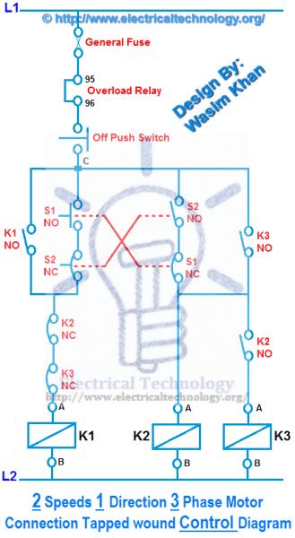 2 Speed Motor Wiring Diagram