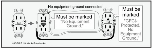 2 Wire Gfci Wiring Diagram