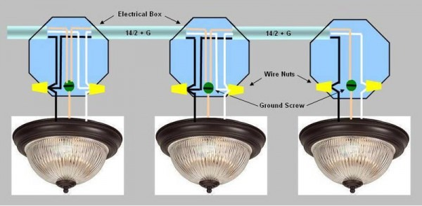 How To Wire Can Lights In Parallel