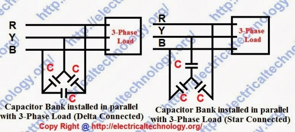 3 Phase Capacitor Wiring Diagram