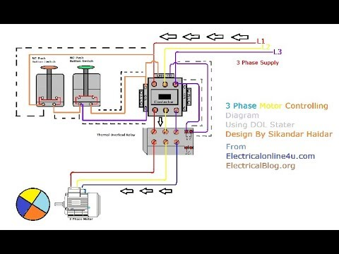 3 Phase Wire Diagram Italian