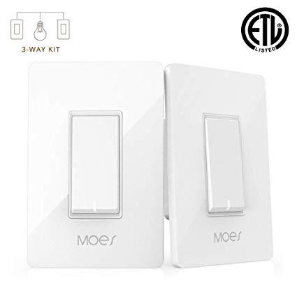 3 Way Wifi Smart Wall Light Switch Wireless Remote App Control