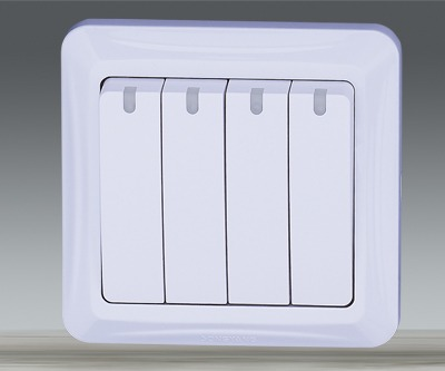 4 Gang Switch Box From China Manufacturer