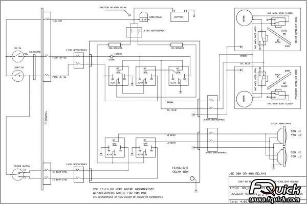 67 Camaro Fuse Diagram