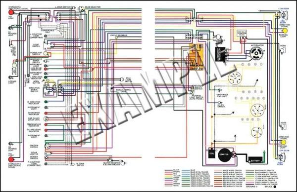 68 Camaro Wiring Schematic For