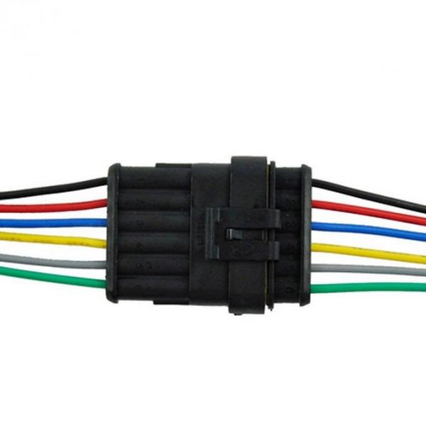 6 Wire Connector Plug