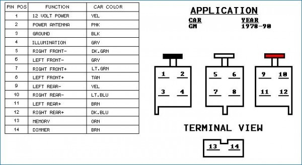 94 Gmc Radio Wiring