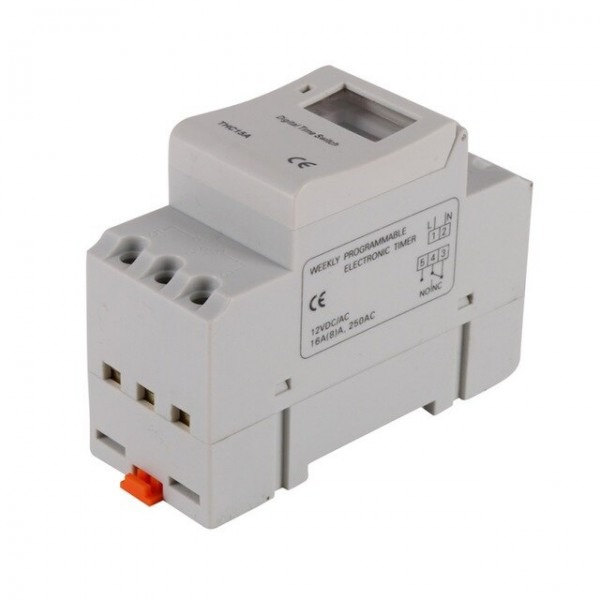 Ac 12v 22v 24v 220v 240v Time Relay Switch Thc 15a Digital Lcd