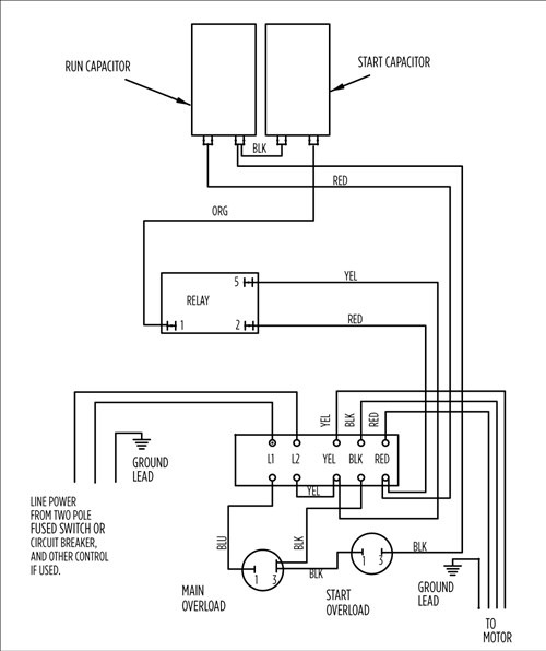 submersible well pump control box wiring diagram Septic System Pump Wiring Diagram