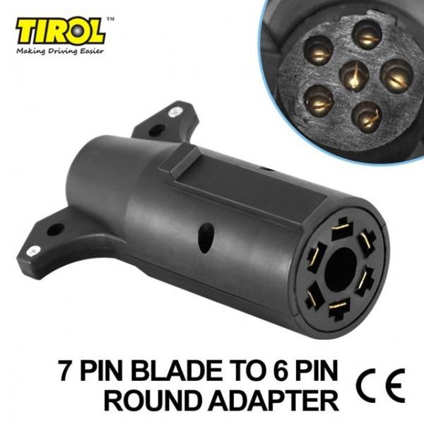 Aliexpress Com   Buy Tirol 7 Pin Blade To 6pin Round Trailer