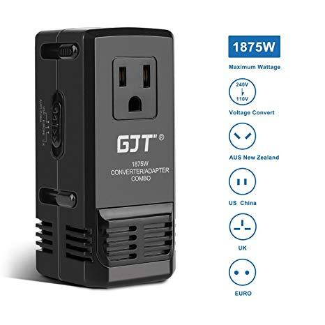 Amazon Com  Gjt 1875w Travel Converter Adapter Combo International