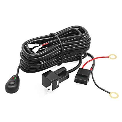 Amazon Com  Led Light Bar Yitamotor Light Bar Wiring Harness With