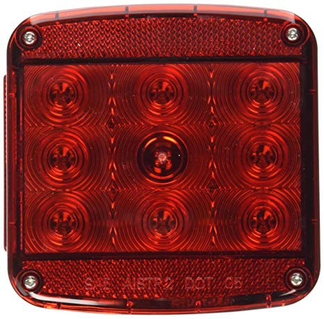 Amazon Com  Peterson Manufacturing Piranha Square Led Stop Turn