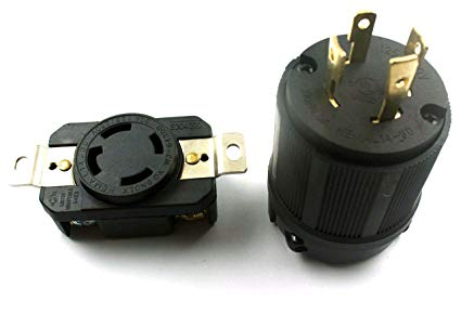 Amazon Com  Xtremeamazing Generator Rv Ac Plug & Socket L14