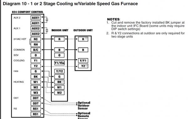 American Standard Heat Pump Wiring Diagram