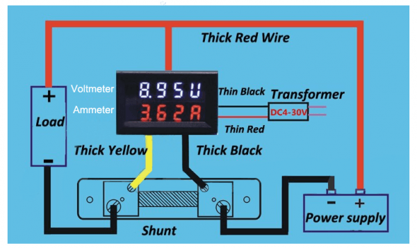 Amp Meter Wiring Diagram from www.chanish.org