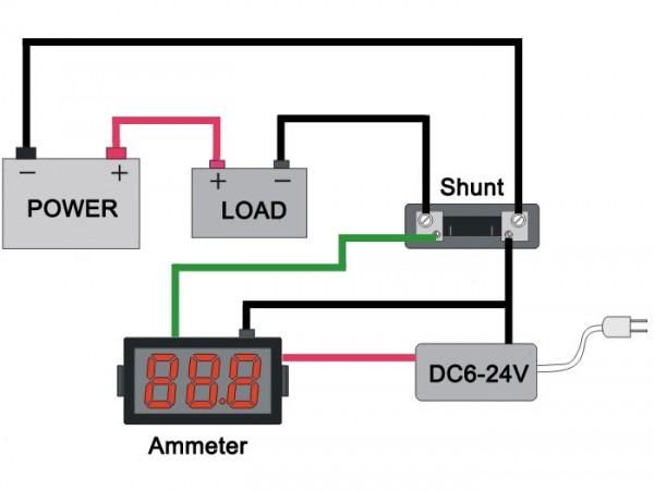 Ammeter Shunt Wiring