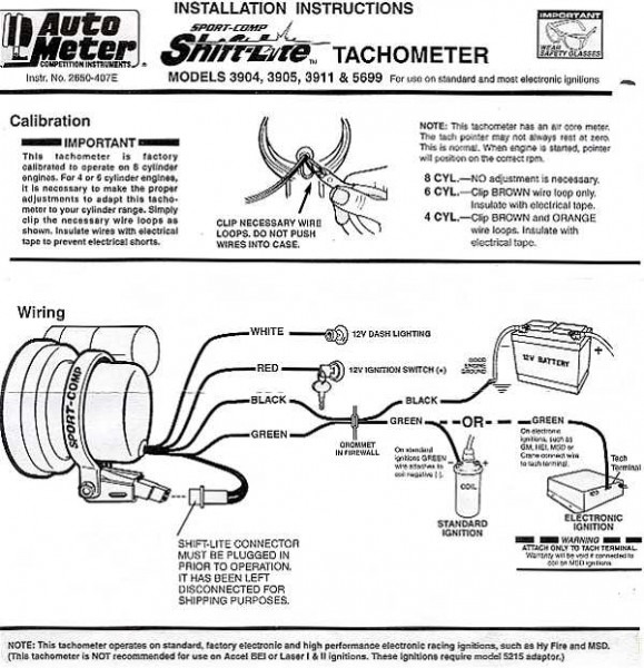 Autometer Sport Comp Tach Wiring Diagram from www.chanish.org