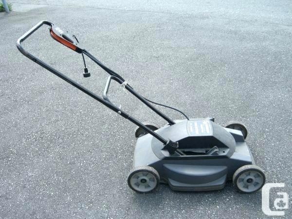 Black And Decker Electric Lawn Mower – Proshtory Info