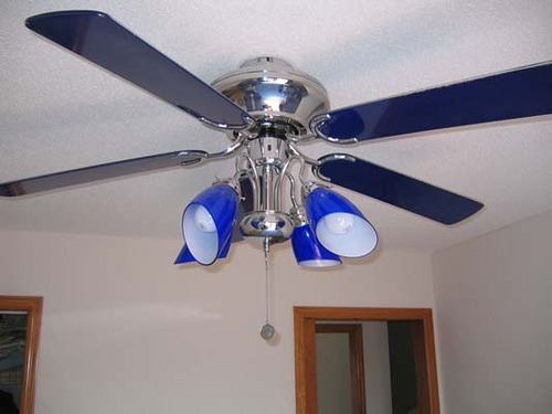 Blue Ceiling Fans With Lights Simple Outdoor Ceiling Fan With