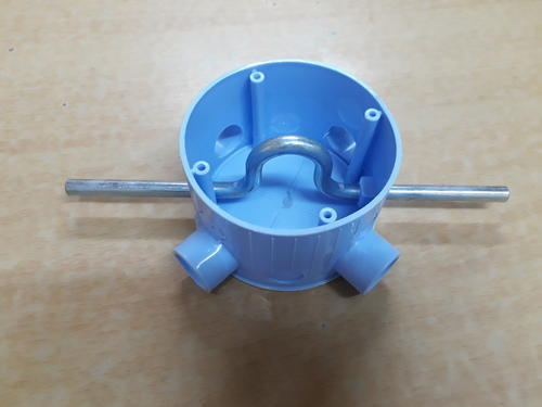 Blue Round Fan Hook Box, Rs 60  Unit, Vivek Pipes