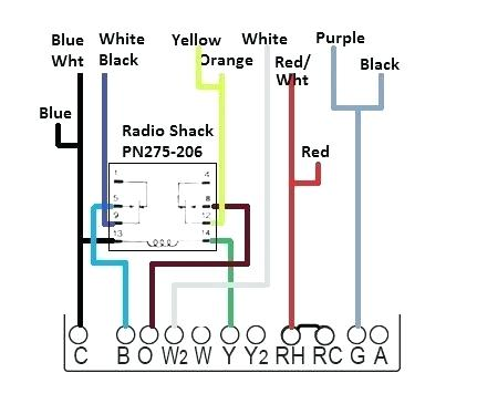 Carrier Thermostat Wiring Diagram