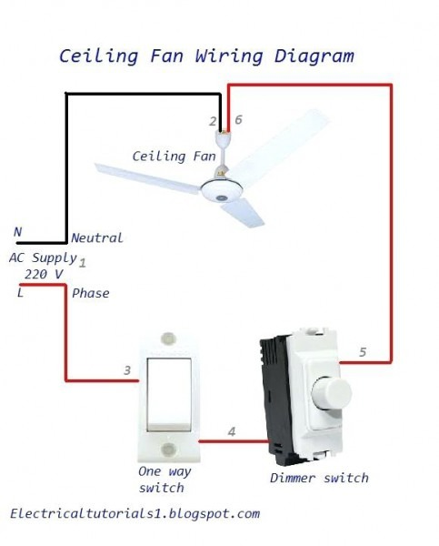 Ceiling Fan Dimmer Switch – Grandopal How To Make