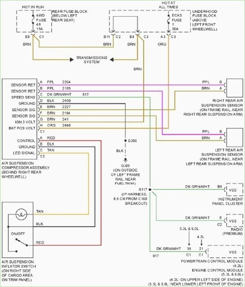 Chevrolet Trailblazer Stereo Wiring Diagram