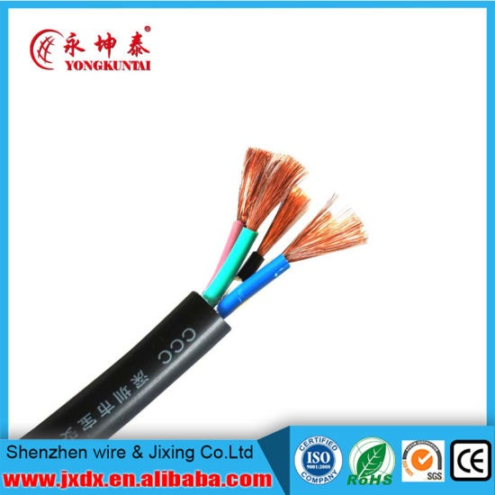 China 2 Core 3 Core 4 Core 5 Core 1 5mm 2 5mm Flexible Cable Color