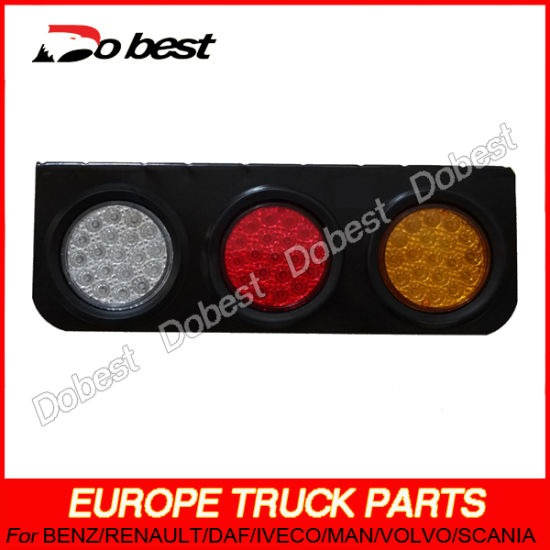China Truck Trailer Led Tail Light Three Color