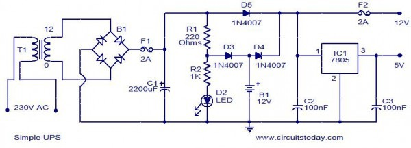 Circuit Diagram And Explanation