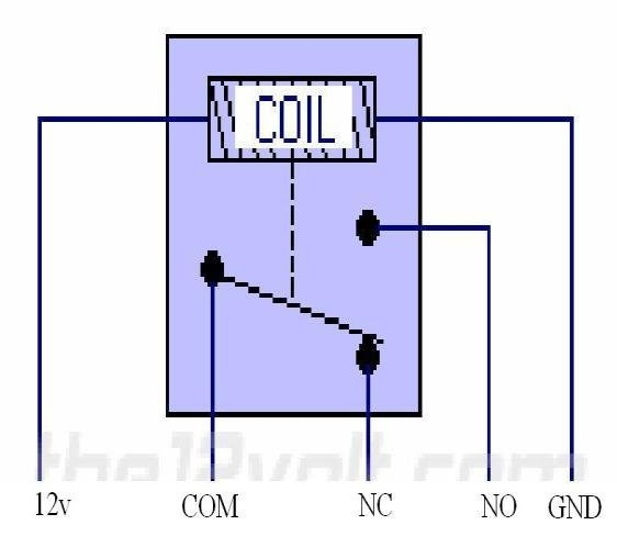 Circuit Diagram Of Switch • With The Help Of Normally Closed