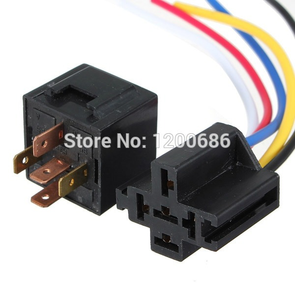 Detail Feedback Questions About 12v 30 40 A Amp 5 Pin 5p