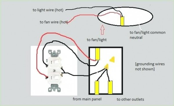 Double Switch Wire Diagram