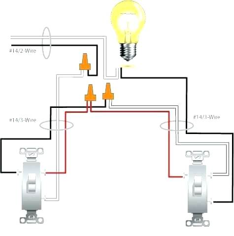 Double Switch Wiring Diagram Light