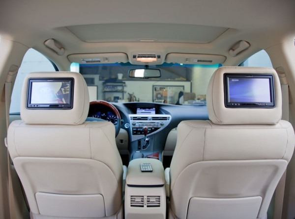 Dvd Headrest Monitors Installation With A Cigarette Lighter