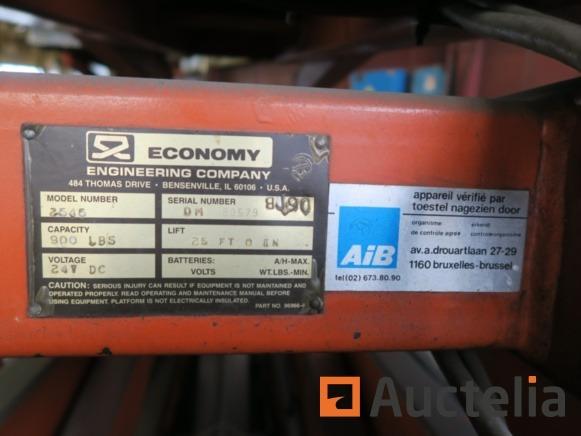 Economy Wildcat Scissor Lift Parts