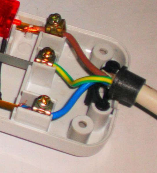 Extension Plug Wiring