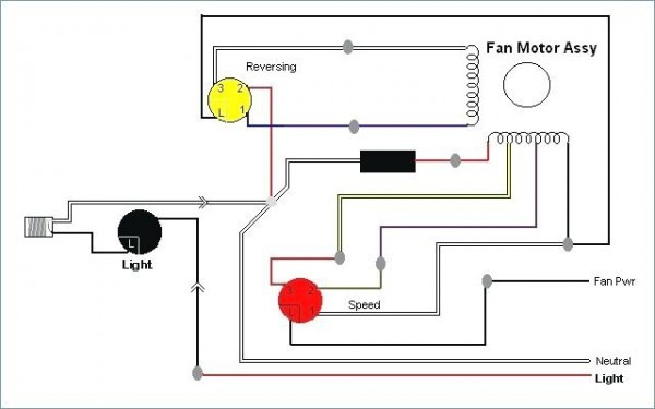 Fan Motor Wiring Diagram
