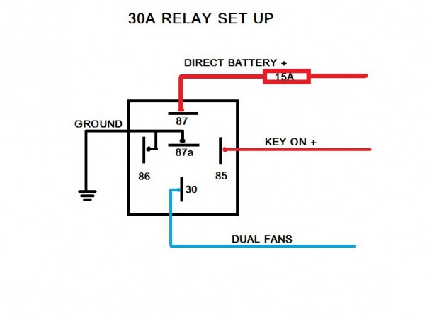 Fan Relay Schematic