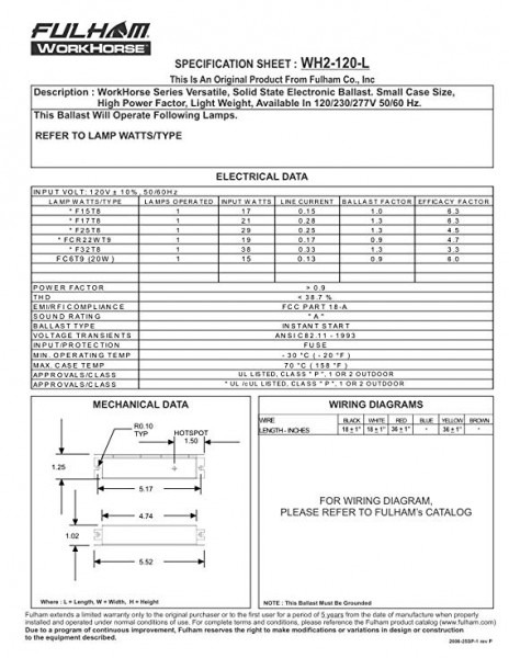 Fulham Wh3 120 L Wiring Diagram