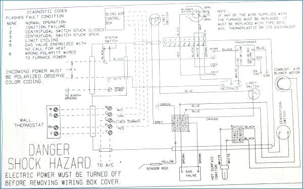 Furnace Wiring Diagram Older Furnace