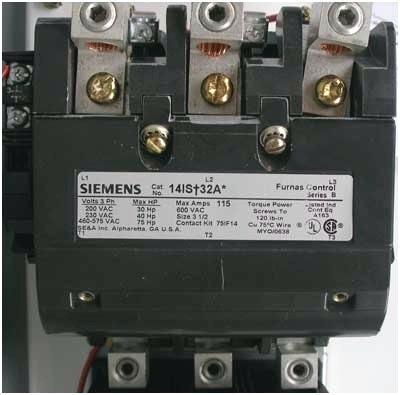 Furnas Siemens Contactor Wiring Diagram