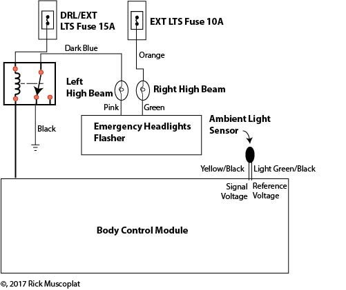 Gm Daytime Running Lights Don't Work — Ricks Free Auto Repair