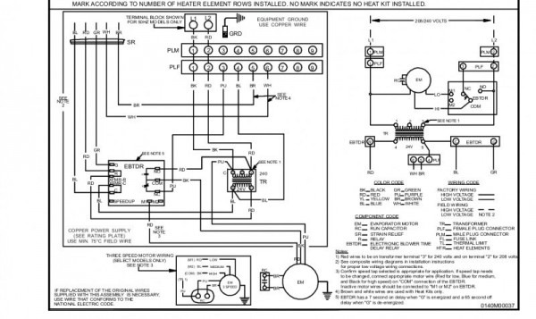 Goodman Heat Pump Air Handler Wiring Diagram