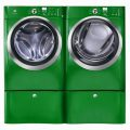 Green Colored Washer And Dryer