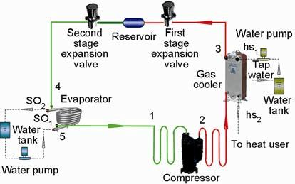 Heat Pump System Diagram