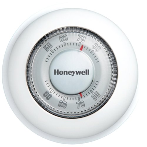 Honeywell Ct87k1004 The Round Heat Only Non