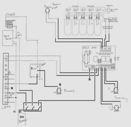 Honeywell R845a Wiring Diagram Honeywell R845a Relay Wiring