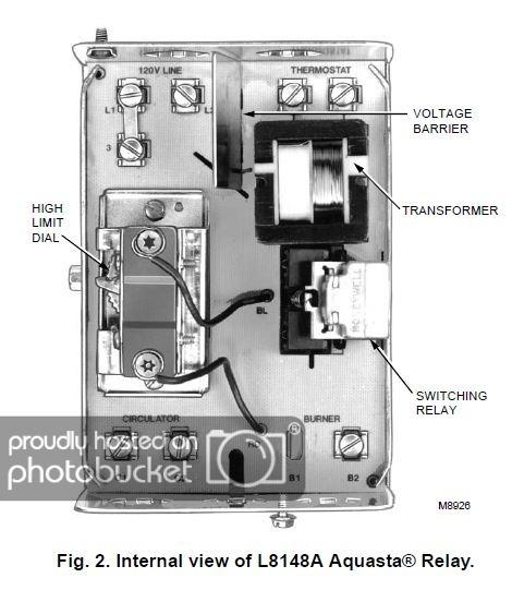 Honeywell Relay Wiring